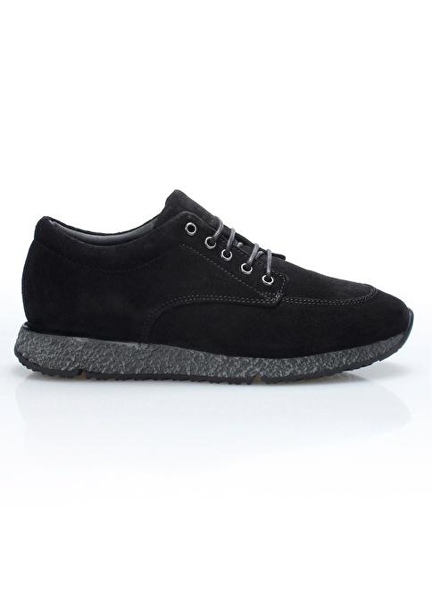 İnci Deri Ayakkabı Siyah